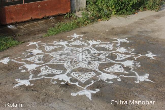 Rangoli: Vishu kolam
