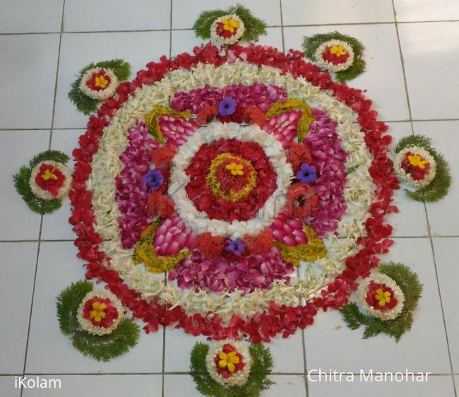 Rangoli: Pookolam for onam
