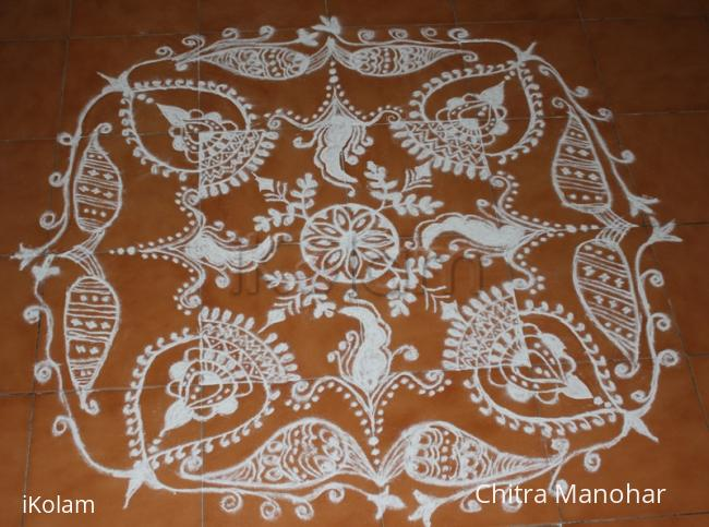 Rangoli: Janmastami Kolam
