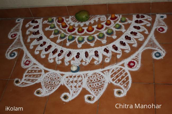 Rangoli: Pickles's day Kolam