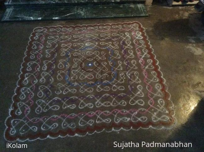 Rangoli: MARGAZHI dewdrops