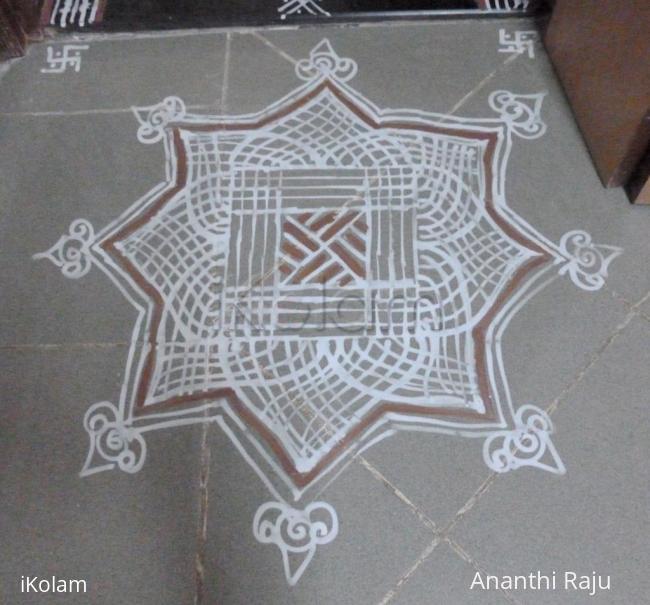 Rangoli: Arudra Darshanam kolam