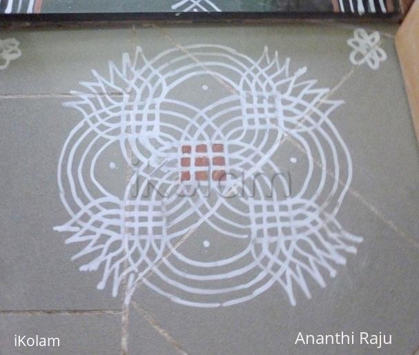 Rangoli: Panguni Uthiram  kolam