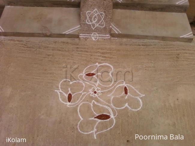 Rangoli: daily kolam 1