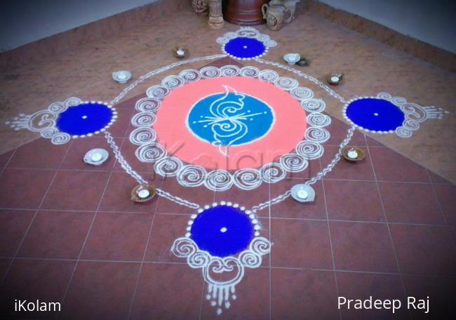 Rangoli: DIWALI@DEEPAVALI 2012