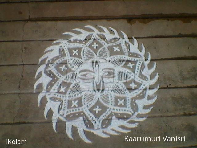 Rangoli: Ratha sapthami