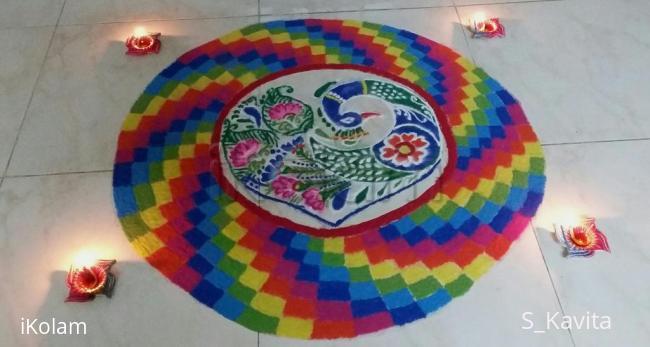 Rangoli: Happy diwali 2015