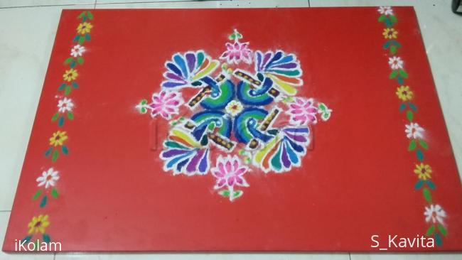Rangoli: krishna jayanthi