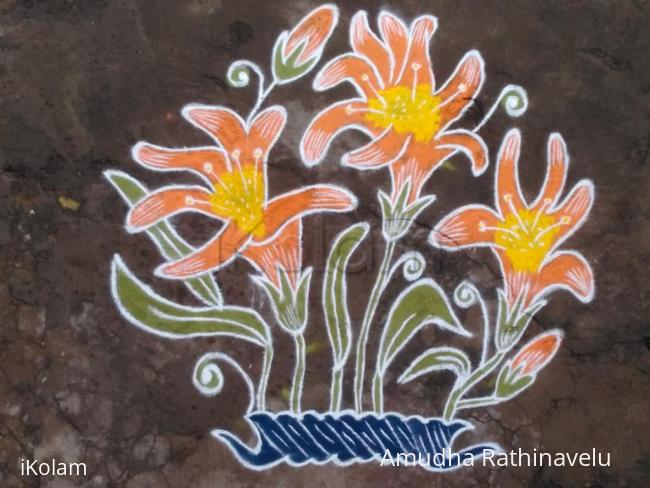 Rangoli: happy vijayadhasami