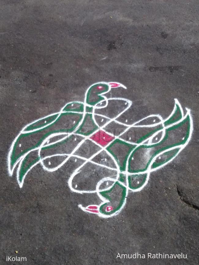 Rangoli: CHIKKU BIRD