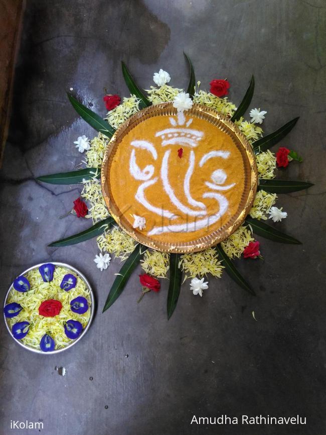 Rangoli: Happy Vinayagar Chadhurthi