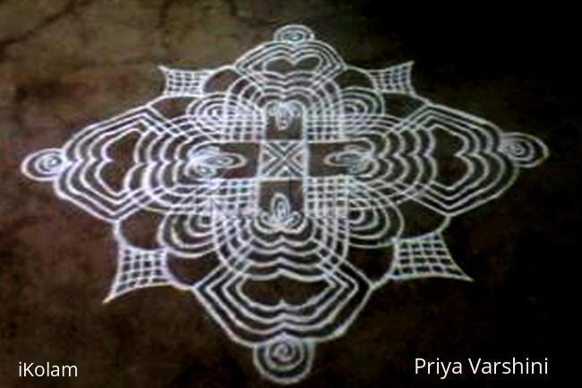Rangoli: 2nd Padi kolam