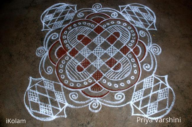 Rangoli: Simple rangoli