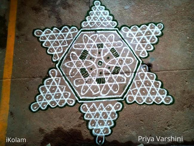 Rangoli: dotted rangoli