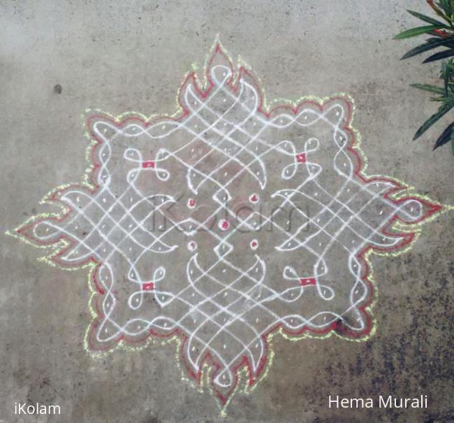 Rangoli: Margazhi day 15 - Adieu to 2015