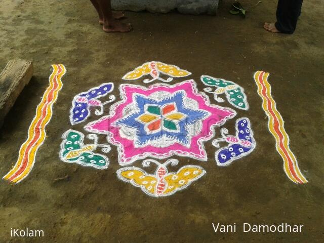 Rangoli: Colourful Butterflies