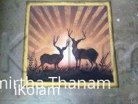 Rangoli: deer