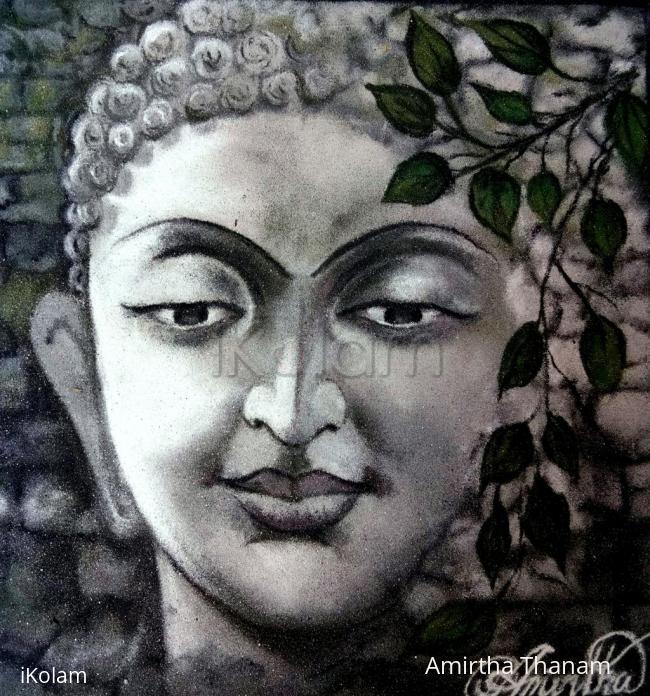 Rangoli: buddhar