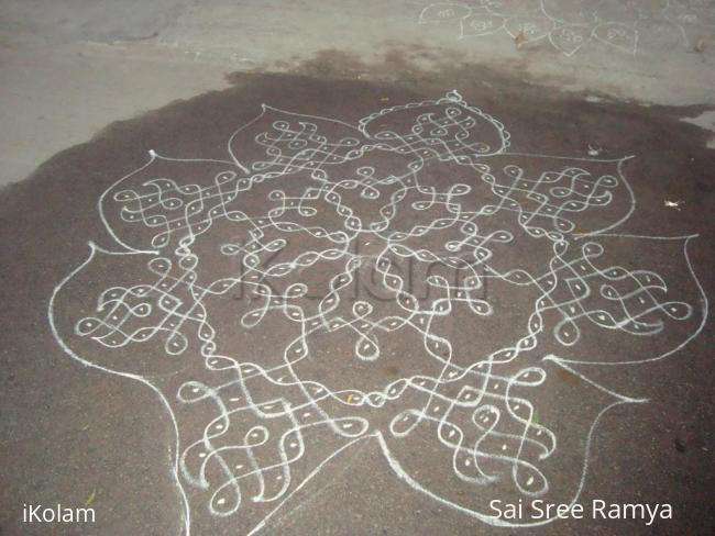 Rangoli: Yugadi/Ugadi kolam