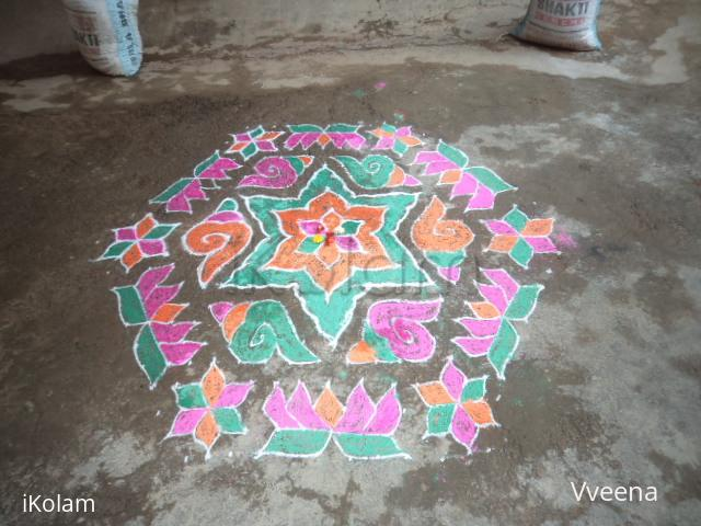 Rangoli: My Home Grihapravesham
