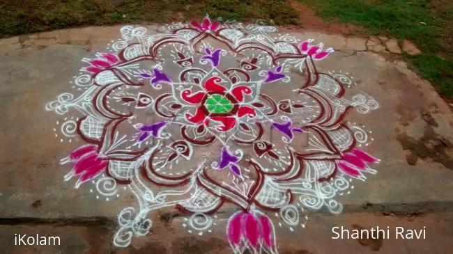 Rangoli: freehand-rangoli