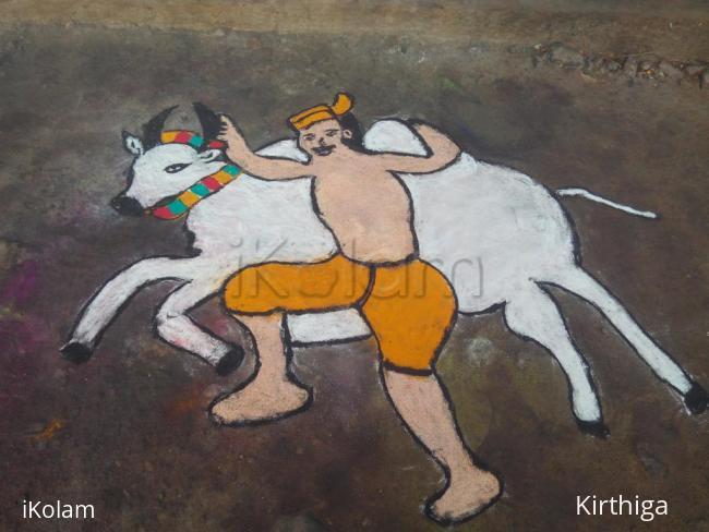 Rangoli: Mattu pongal