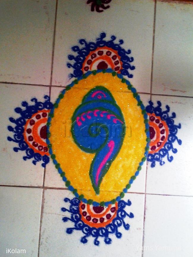 Rangoli: Satgurday Special Kolam