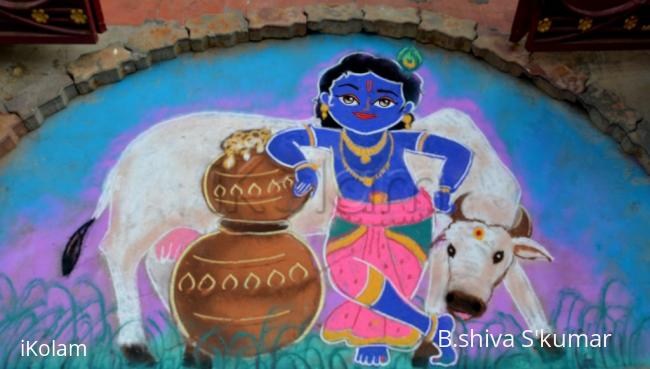 Rangoli: Krishna Pongal