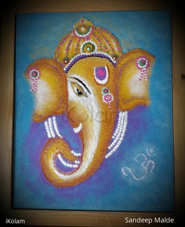 Rangoli: Swagatam Shree Ganeshji