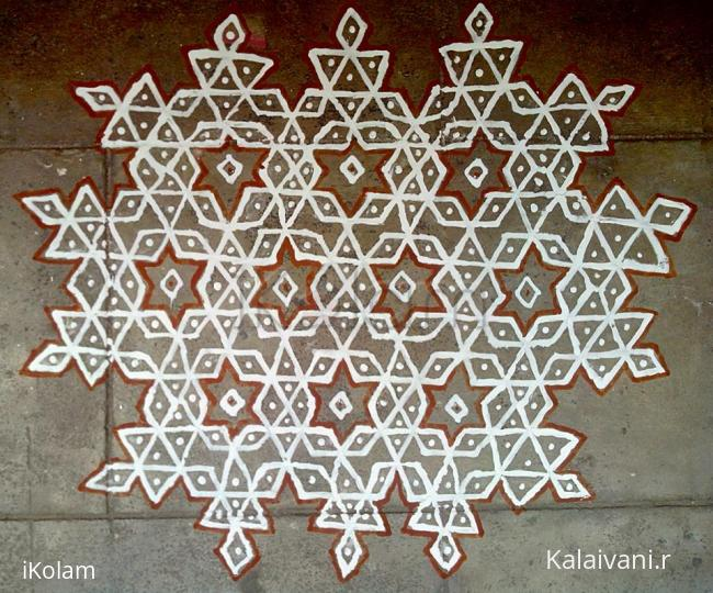 Rangoli: Stars