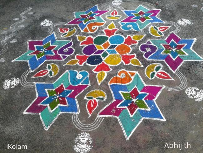 Rangoli: New year 2015