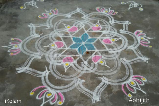 Rangoli: Inspirational Kolam 17