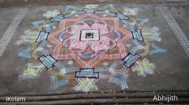 Rangoli: Aadi 4th Friday Kolam