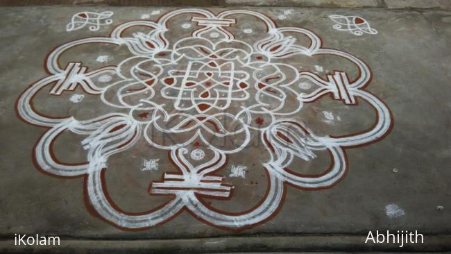 Rangoli: Vasant Navaratri Day2