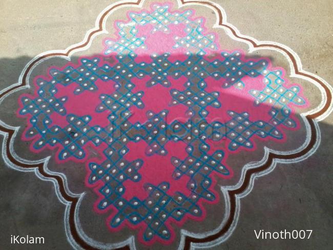 Rangoli: margazhi day design