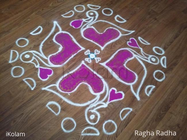 Rangoli: Valentine Days Special Rangoli