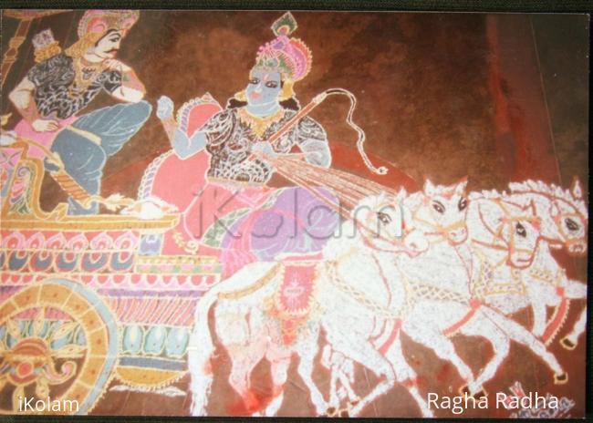Rangoli: SRI KRISHNAASHTAMI SPECIAL-GEETHOUPADESH