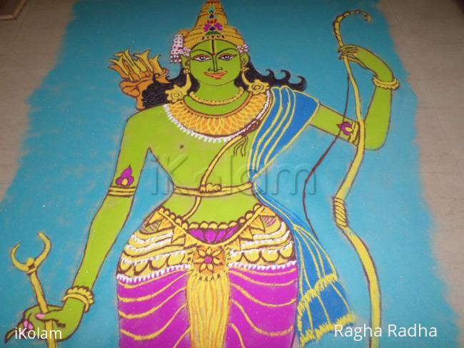 Rangoli: HAPPY SriRamNavami WISHES