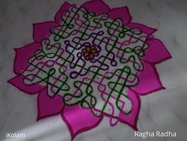 Rangoli: DASHAHARA DAY-8 PINK SPECIAL