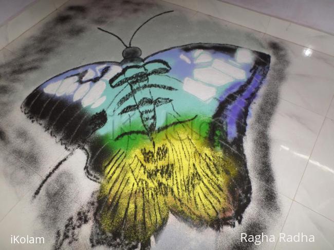 Rangoli: DASHAHARA DAY-5-3D SPECIAL RANGOLI