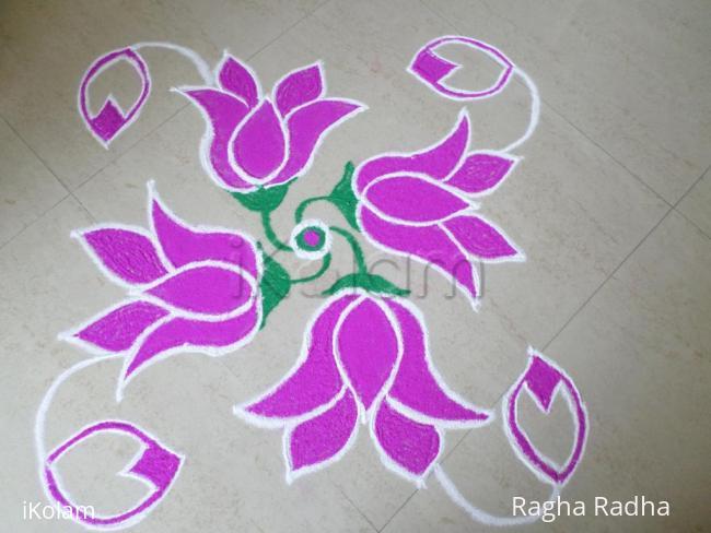 Rangoli: BEGINNERS RANGOLI-9-1