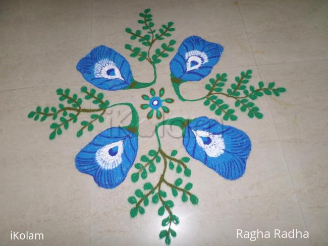 Rangoli: NavaRathri 8thDay