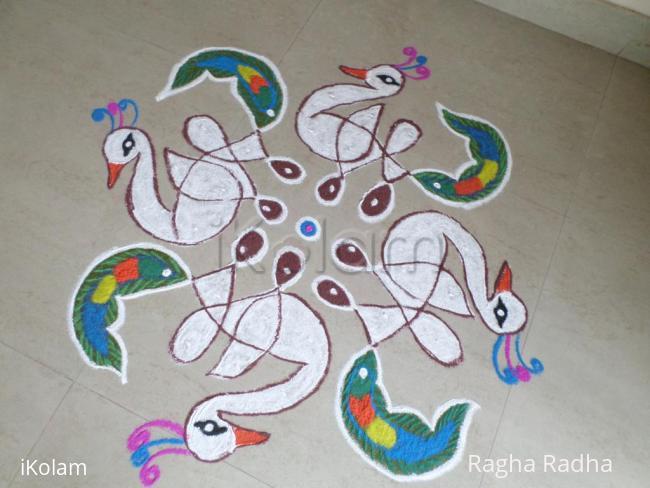 Rangoli: FANCY DRESS COMPETITION FOR WHITE PEACOCKS.