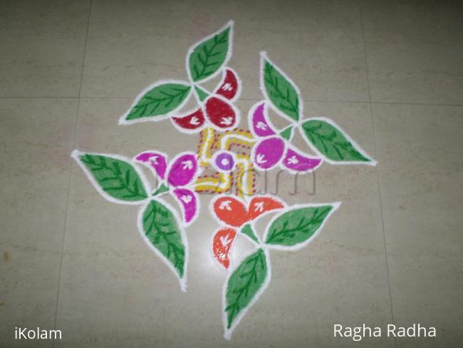 Rangoli: INDIA  SALUTES SAKSHI & SINDHU