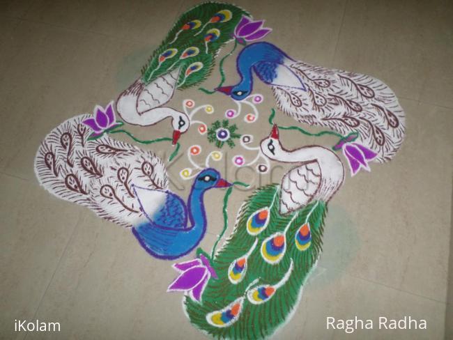 Rangoli: HAPPY VILAMBI TAMIZH PUTHAANDU -RANGOLI