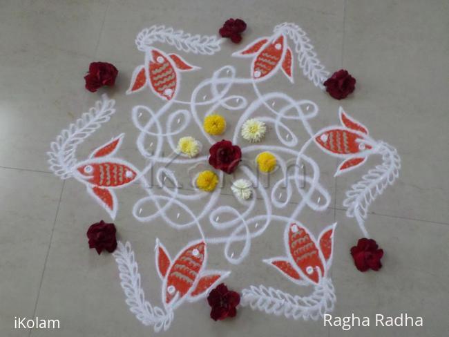 Rangoli: Chikku Net & the Fish