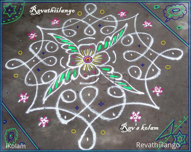 Rangoli: Rev's easy chikku 4.