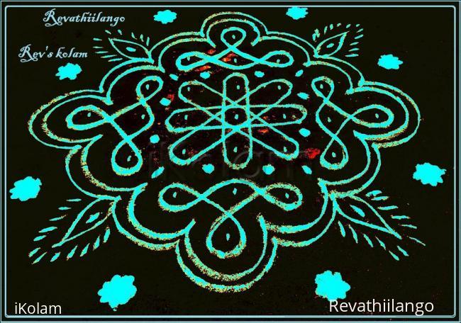 Rangoli: Rev's easy chikku 18.