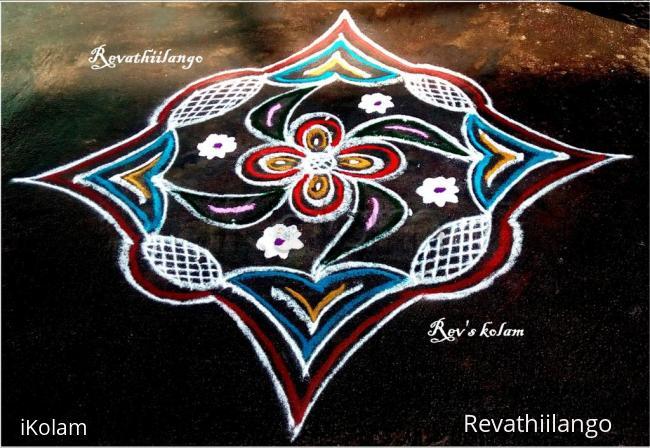 Rangoli: Rev's daily kolam 27.