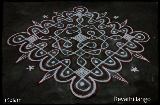 Rangoli: Rev's chikku kolam 67.